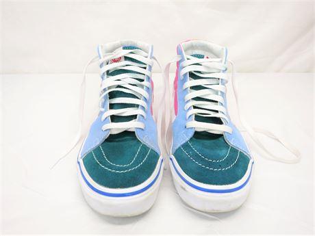 Vans Sk8 Hi Color-Block Skate Shoe - Multi