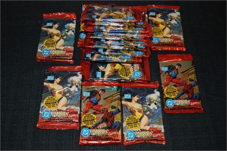 DC Marvel Comics Trading Cards (500)