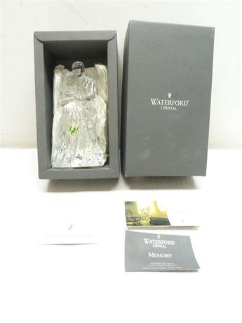 """Waterford Crystal; """"Bride & Groom"""" Figurine, In Box, 7.5"""""""