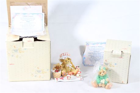 Cherished Teddies Collectible Figurines By Enesco, Lot of 22