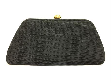 """Inge Christopher Black Party Wallet Bag Like 10""""X4""""X2"""""""