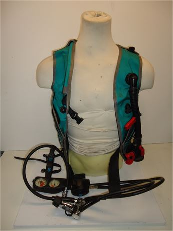 ScubaPro Finsea Weighted Vest With Dive Knife (Not Tested)