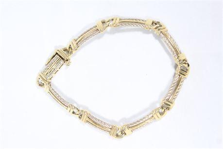 14k Yellow Gold Women's Bracelet 19.52 Grams