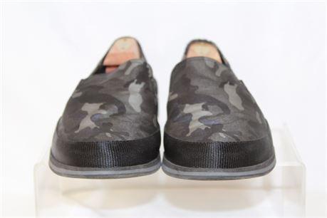 PRADA Dark Camo Slip On Men's Shoes Size 8