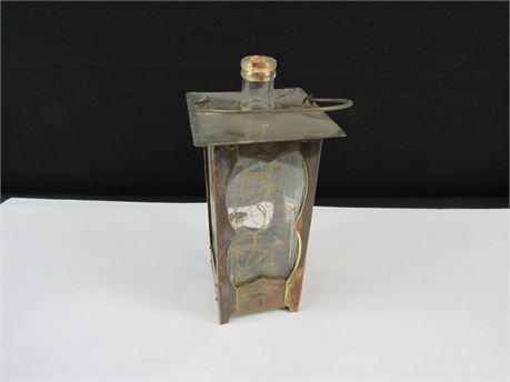 "Unique 1939 Vintage Decanter w/ Music Box ""How Dry I Am""   (650)"