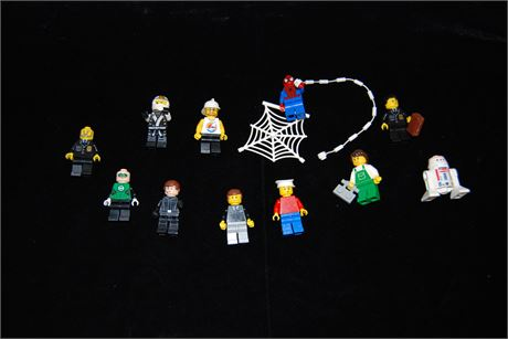 11 Misc. Mini Lego Figures Lot (500)