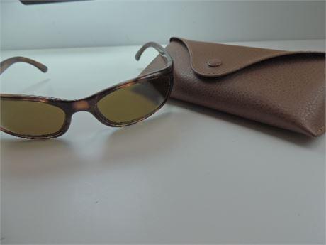 RAY BAN Prescription Sunglasses With Case