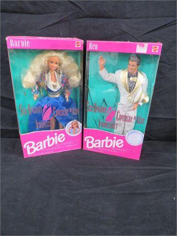Lot of 2 Barbie  (230-LVZZ2)