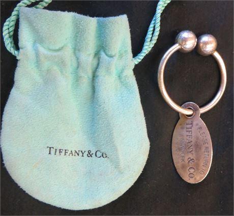 Tiffany & Co Key Chain And Tag