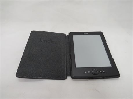 Amazon Kindle 4th Generation eReader Tablet Model D01100 Wi-Fi 2GB - Tested
