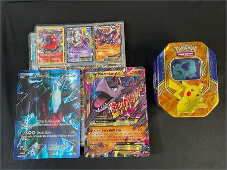 Huge Pokemon Card Lot, Unsorted, Over 200 Cards