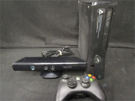 Microsoft Xbox 360 S 4GB Video Game Console and Accessories Bundle - Tested