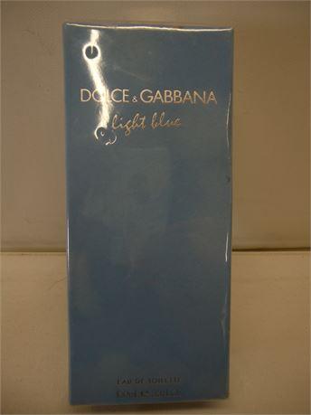 "Dolce & Gabbana ""light blue"" Eau De Toilette 3.3 Fl oz NIB"