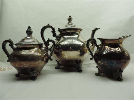 Empire Colonial E.P.C Teapot, Coffee 3  Piece Set