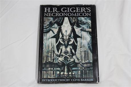 H.R. Giger's Necronomicon Art Book, Rare, OOP