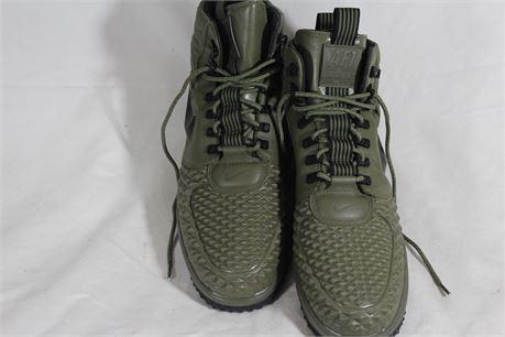 Nike Lunar Air Force 1 LF1 Duckboot 17 Olive, Mens Size 15
