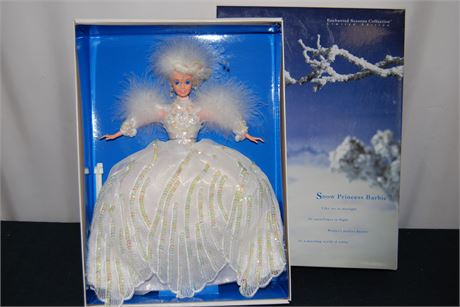 Snow Princess Barbie (500)