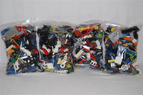 4 Unsorted Lego Bags (500)