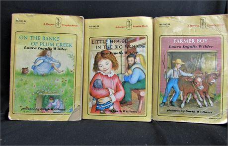 3 Vintage Books from 1971, Published by Harper Trophy