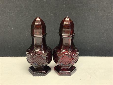 Avon Salt and Pepper Shakers