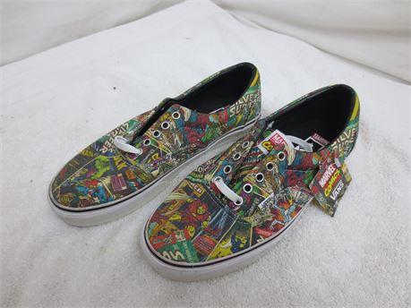 Marvel Comics Vans Shoes Size 10 Mens