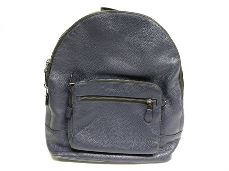 Coach Navy Blue Book Bag/Back Pack