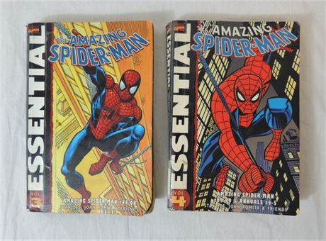 Marvel Essential The Amazing Spider Man Vol. 3-4, #44-89 & Annuals #4-5 (579)