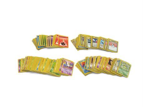 Huge Lot of Pokemon Trading Cards - Base Set, Fossil, 1st Edition, Jungle, Promo