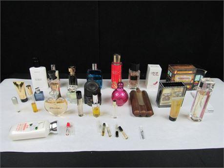 Large Bundle of Perfumes #MM167 (650)