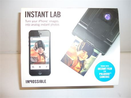 Impossible Instant Lab, Turn Your iPhone Images Into Analog Instant Photos