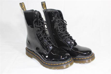 Doc Martens Black Women's Boots, Size 7