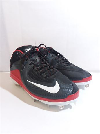 Nike Red Athletic Shoes For Men Size 13