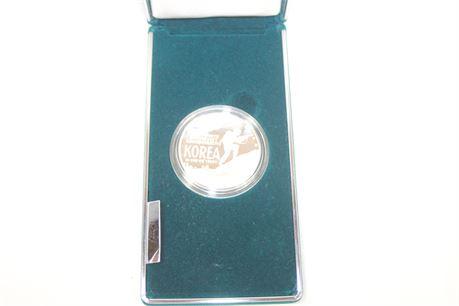 1991 Korean War Memorial Commemorative Silver Dollar