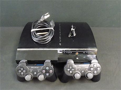 PS3 Playstation 3 CECHE01 Backwards Compatible HDD 80GB (Tested to Work)