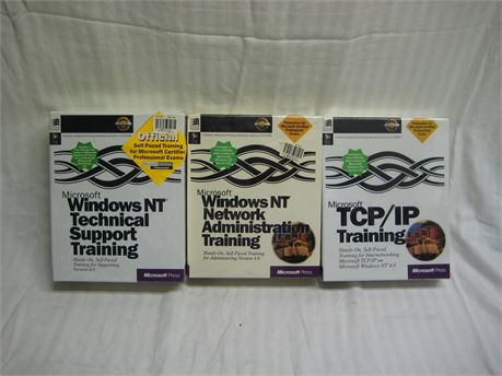 Lot Of 3 Microsoft Training Materials Brand New