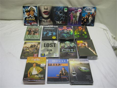 Lot Of 16 Assorted TV Show/Movie DVD Sets Brand New