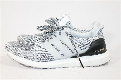 Adidas Ultra Boost Men's Running Shoes, Gray Stripes, Size M11