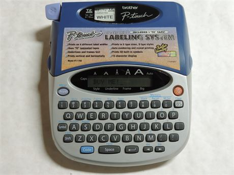 Brother P-Touch PT-1750 Electronic Labeling System