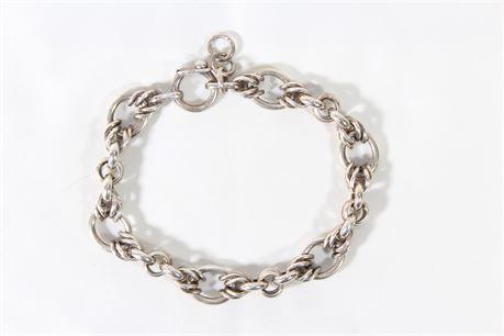 950 Silver Unisex Bracelet