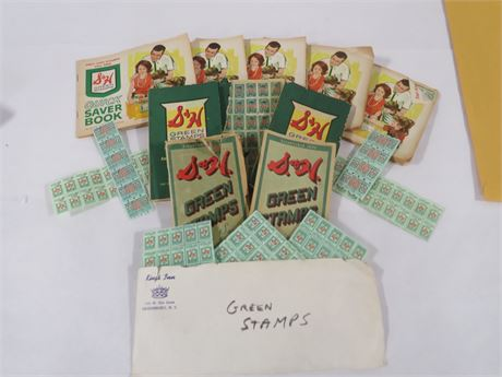 S and H Green Stamp Books (230-LV11UU)