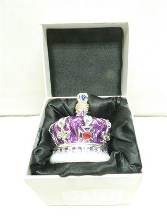 Purple Crown Art Form Box; NIB