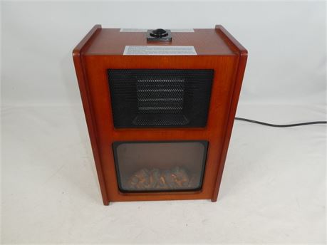 Portable Infrared Heater / Faux Fireplace Model SQ-972A, NEW IN BOX #4