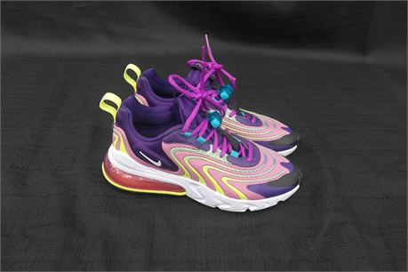 Nike Air Max 270 React Womens Size 8 Multi-Color