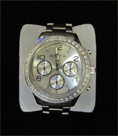 Belita Brilliante Rhinestone Watch