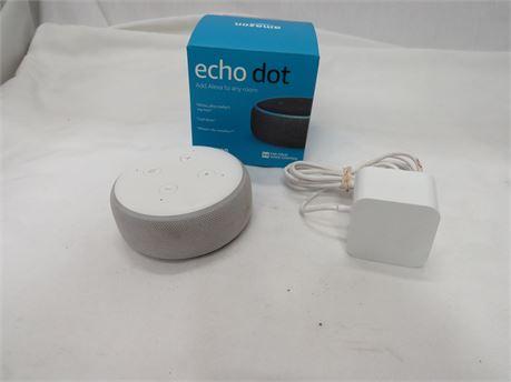 Amazon Echo Dot 3rd Generation Smart Speaker - Tested
