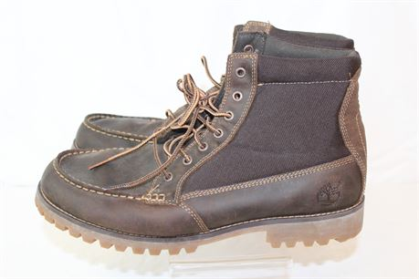 Timberland Brown Leather Boots Sz 9