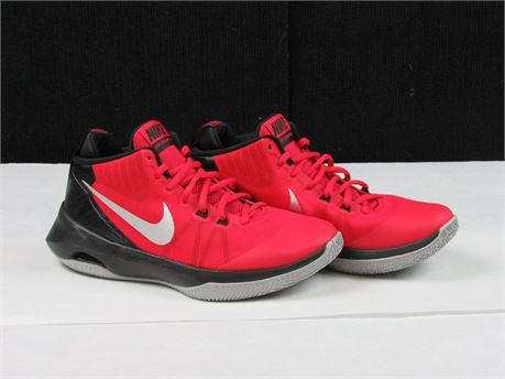 Nike Air Womens Red Basketball Shoes 852446-600 Size 8 #BB377 (650)