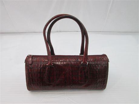 Wilsons Leather Pelle Studio Womens Burgundy Purse