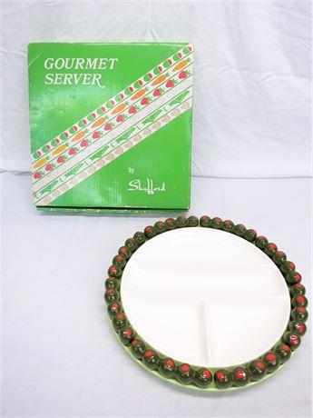 Vintage Gourmet Server By Shafford No.878 Olive