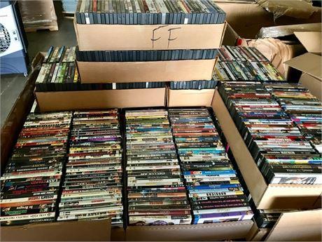 Huge Lot of 62 DVDs #4